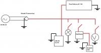 Akumulator zasilany dynamem i panelem solarnym.