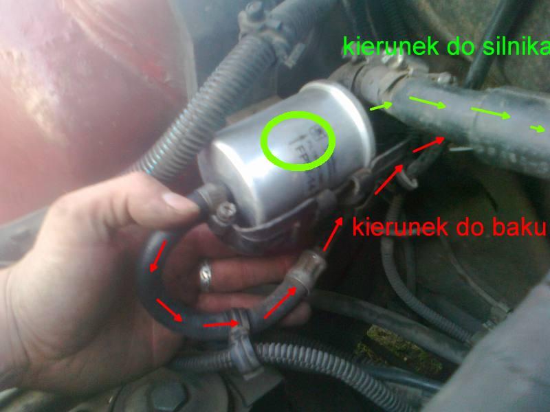 FIAT UNO  - Filtr paliwa w ktora strone ? fiat uno