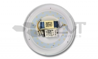 Lampa z czujnikiem mikrofalowym + podczerwien z kamery