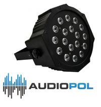 LED PAR 56 SLIM 18x3W RGB za 160z�