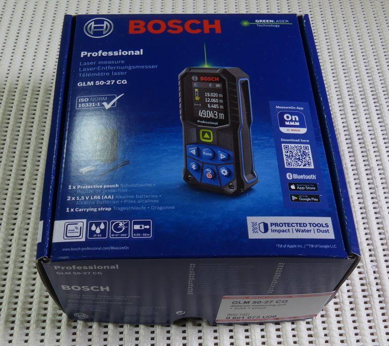 Dalmierz Bosch GLM 50-27 CG - test, opinia, recenzja