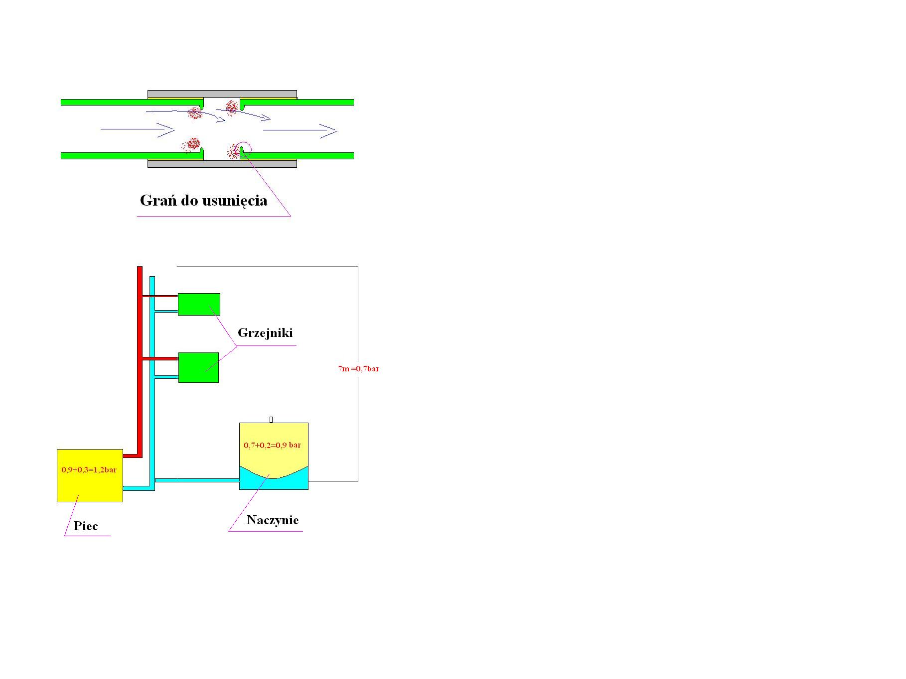 Ci�nienie powietrza w zbiorniku a ci�nienie wody w insta 2