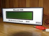 Miernik warto�ci ESR kondensator�w elektrolitycznych