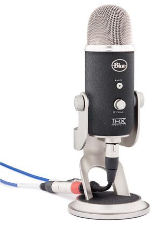 Yeti Pro - mikrofon z DAC 24/192 i interfejsem USB