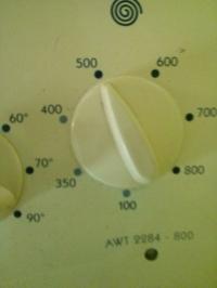 Pralka Whirpool AWT2284 - Zepsuta regulacja obrotów wirowania