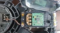 Sterownik wentylatora, czujnik temperatury BMW E46 320d