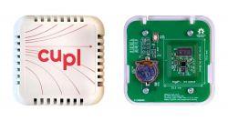 Zasilany bateryjnie tag NFC cuplTag do rejestracji temperatury i wilgotności