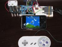 Podłączenie kontrolera SNES do telefonu z Androidem