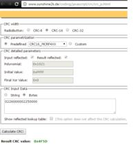 Sterownik Tech AG Lux (Defro) - Protokół komunikacyjny