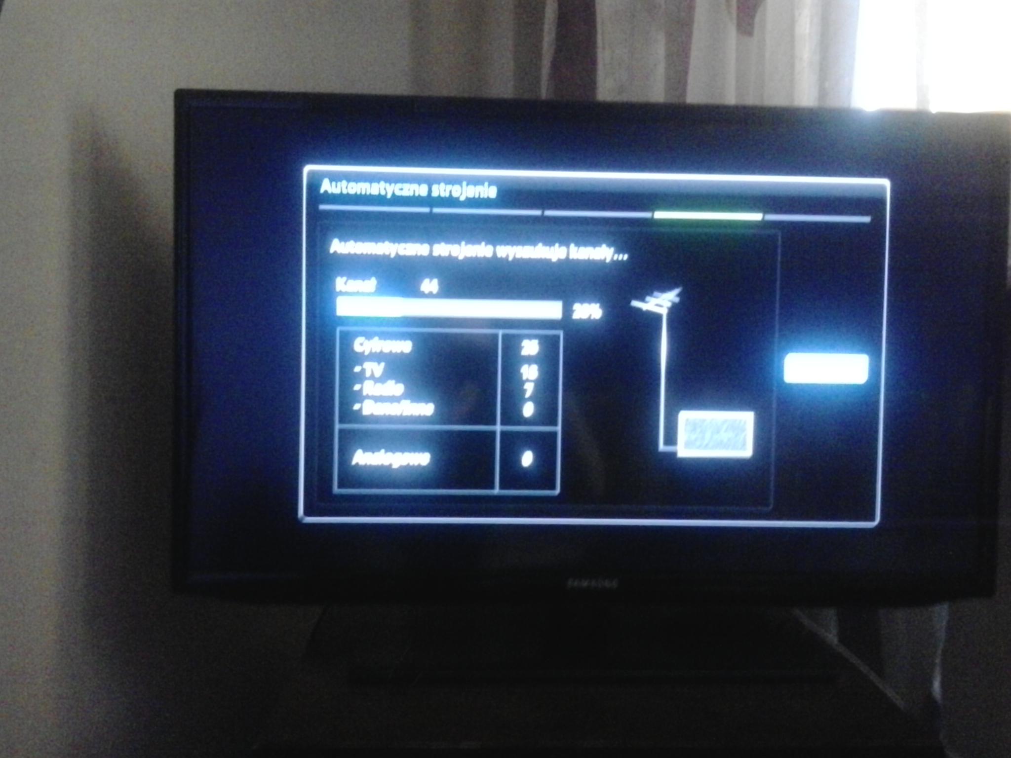 Problem z anten� i odbiorem kana��w (zdj�cia)