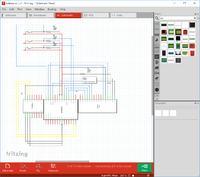 Kalkulator na mikrokontrolerze ATmega 328 - schemat