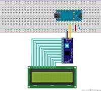 Arduino UNO - prostokąty na wyświetlaczu