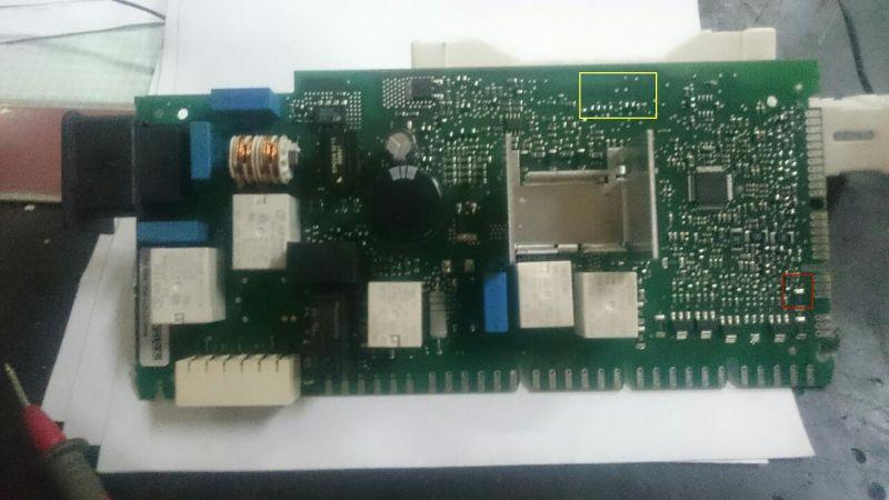 Bosch/SMI58M95EU/38 - Zmywarka nie włącza się, pstryka