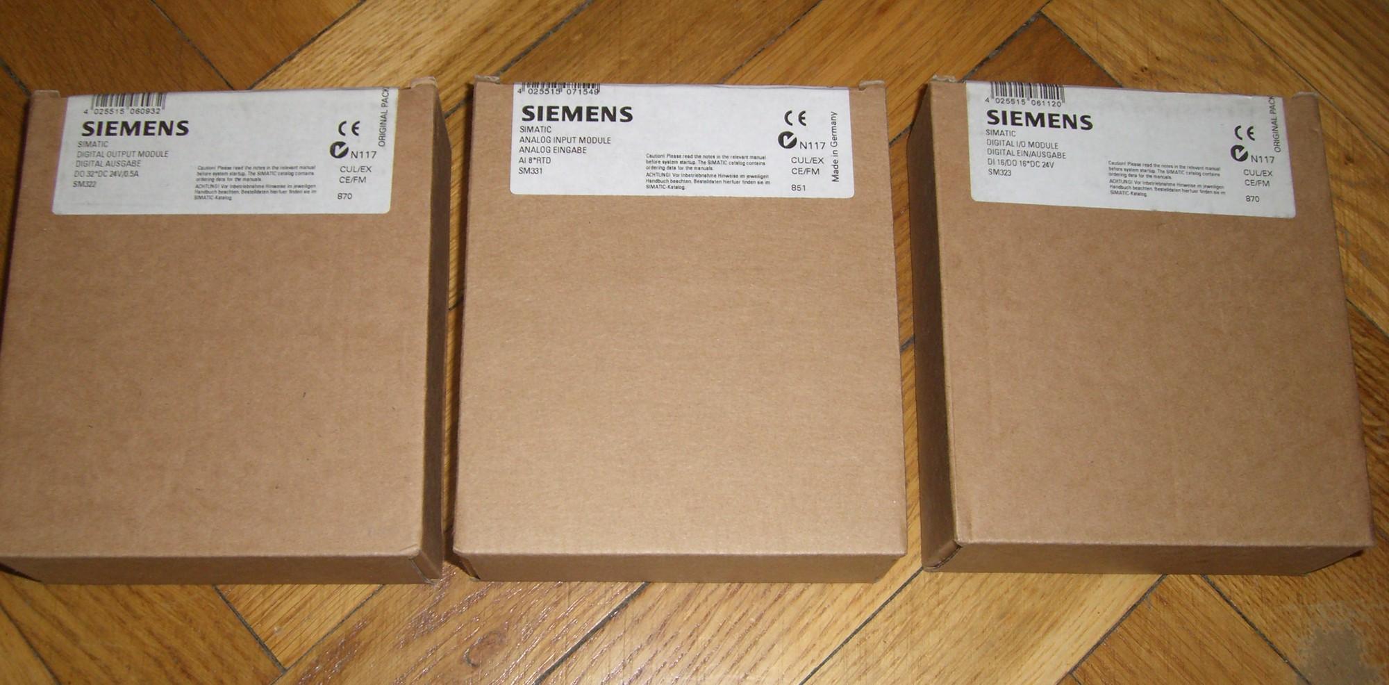 [Sprzedam] karty Siemens SIMATIC S7