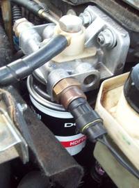 Filtr paliwa z Bravo 1.9TD - czy jest podgrzewany elektrycznie?.