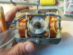 Generator wysokiego napięcia - transformator