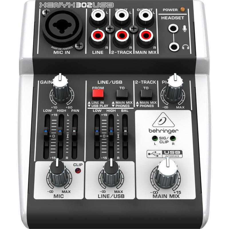 Mikser Behringer Xenyx 302 USB