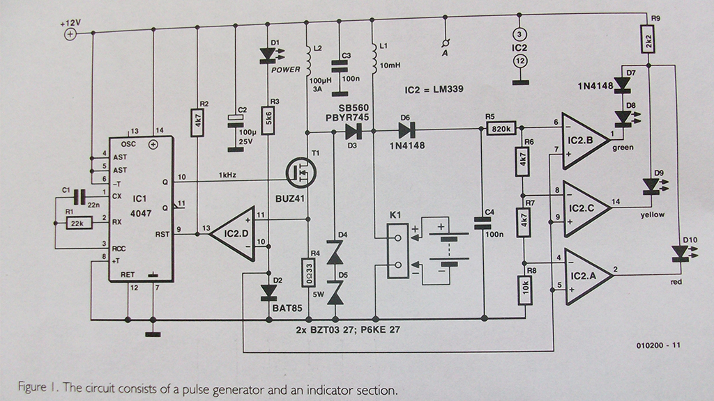 Revitaliser aka desulfator do akumulatora kwasowo-o�owiowego.