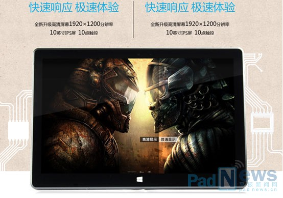Wei Yan PH101T - tablet z Windowsem 8.1 i procesorem Intel Atom Z3775D za 288$