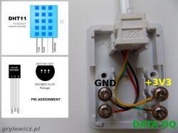 System monitorowania temperatury (i nie tylko) z powiadamianiem SMS/mail