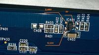 SAMSUNG 2243LNX - Błysk, paski i odświeżanie obrazu.