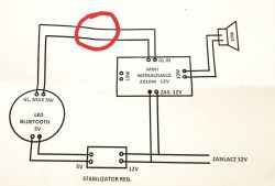 Radio na bluetooth, pali moduł