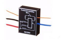 Układ włącznika zasilania 230V na microswitch.