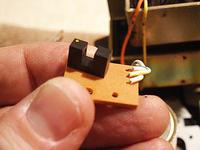 Magnetofon Marantz SD6020 - wymiana transoptora czujnika końca taśmy
