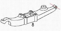 Atego 1218 2005r. zawieszenie pneumatyczne urwało amortyzatory