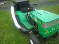 Traktorek B&S kosz - Budowa kosza do traktorka z bocznym wyrzutem