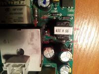 Pralka Polar PFL1219 - Upalony programator L1799