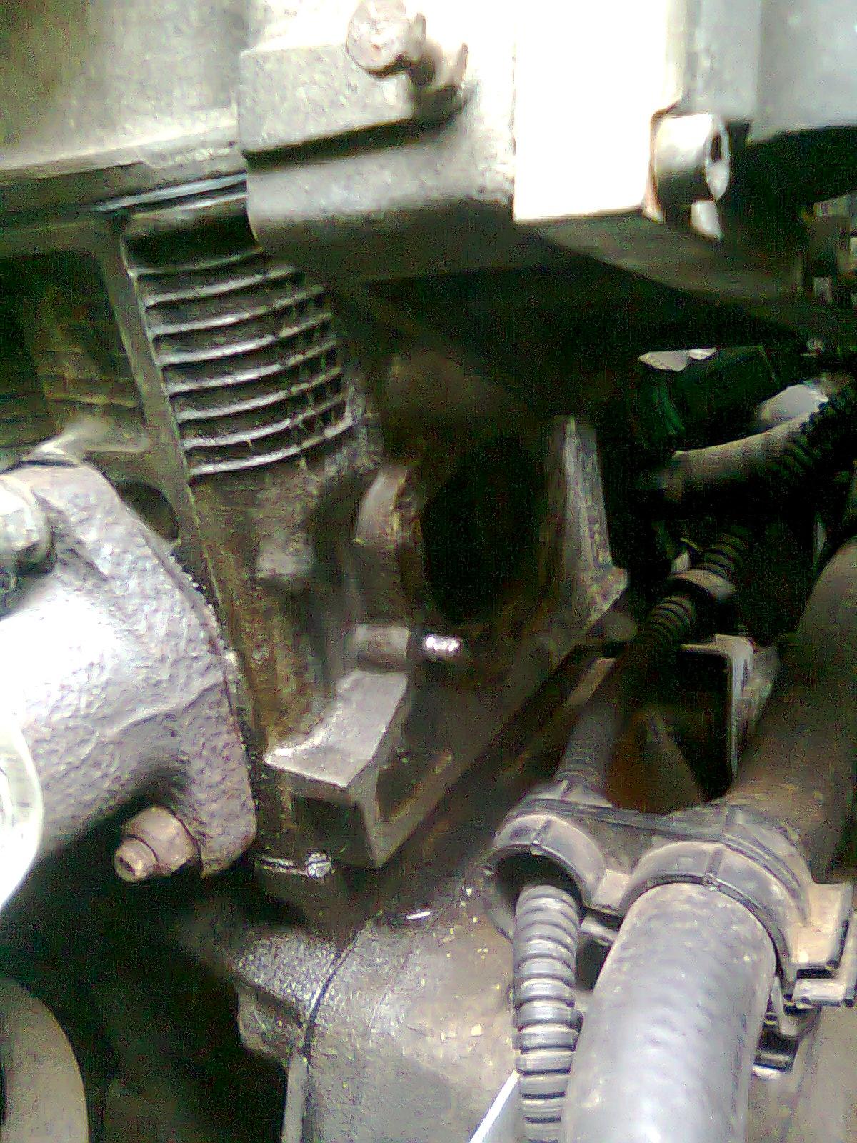 Fiat pUNTO - Wymiana termostatu