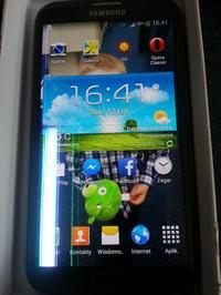 Samsung Galaxy Note II - Pad� wy�wietlacz