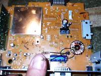 [pioneer deh-2900mpb] - buczenie i stuki na rca -spalone diody d901 i d902