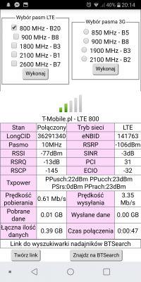 T-mobile wybór anteny zewnętrznej Huawei b525