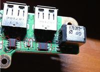 Gateway MT6839b  - Nie �aduje baterii po wymianie gniazda �adowania