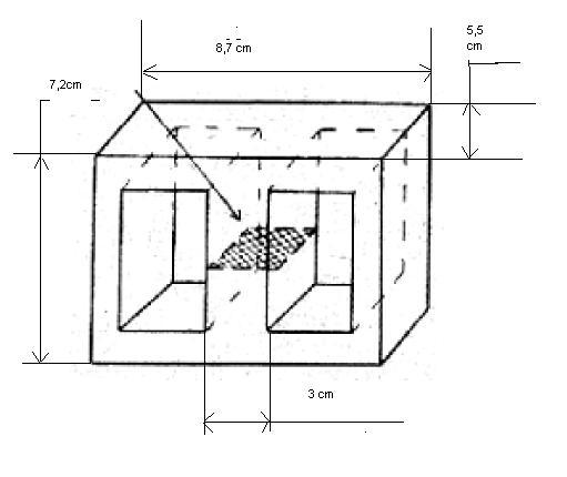 Transformator -dowini�cie uzwojenia wt�ernego
