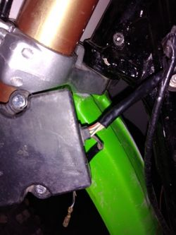Kawasaki KX 1994 r. - brak iskry