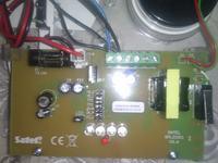 Sygnalizator optyczno-akustyczny satel 1011