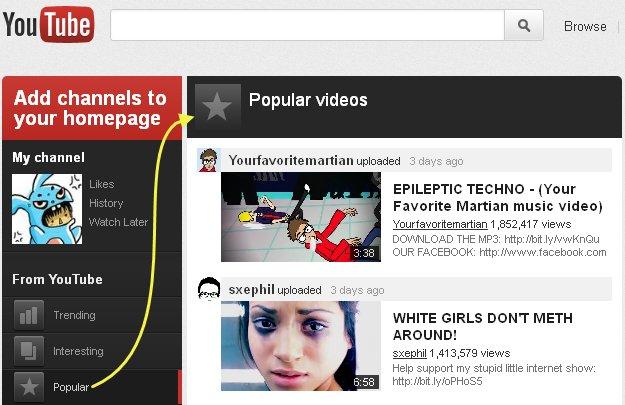 Google znowu zmienia wygl�d YouTube