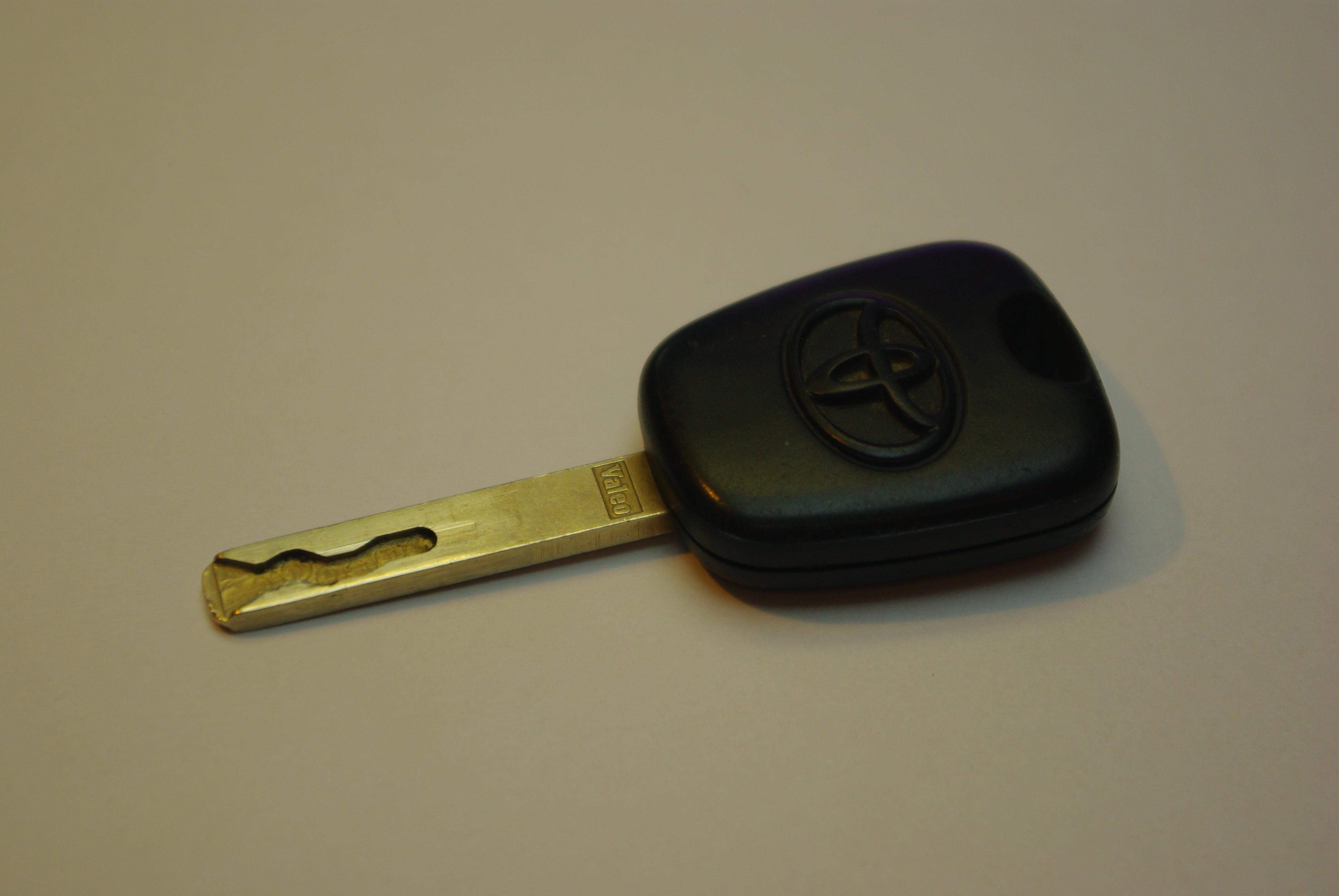 Toyota Aygo 1.0PB - Nie odpala k�opot z immobiliserem