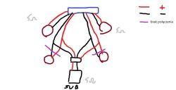 Rodzaj połączenia głośników w astrze g i subwoofer pasywny