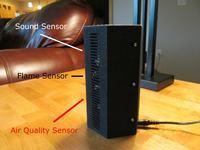 System monitorowania domu na Intel Edison z modułem ESP8266