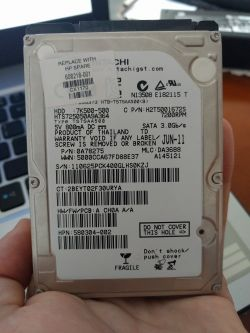 Nowy dysk HDD do laptopa HP