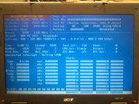 Acer Aspire 5050 Czarny ekran