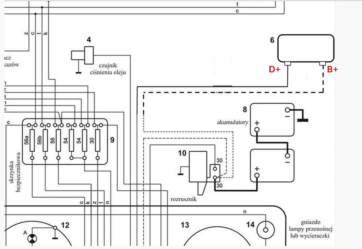 Jak Podłaczyć Ten Alternator Do C 330 Elektrodapl