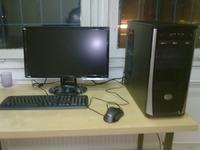 "Komputer stacjonarny intel core i7, monitor benq 21,5"" lcd + windows 7 - Po"