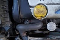 Opel astra f - uszkodzony termostat - wymiana