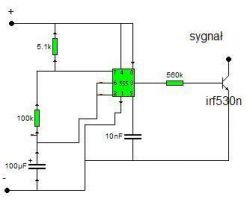 Emulator czujnika poziomu i temp. oleju do silnika AFN