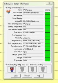 Samsung R-610 - Wymiana ogniw w baterii